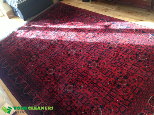 rug cleaning in Liverpool